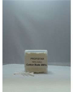 Profistar Wattenstaafjes 100% cotton 200stuks