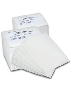Cosmetische zachte non-woven doekjes12x12cm  per 100 stuks